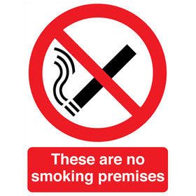 These are no smoking premises