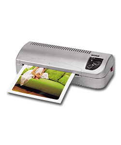 Here is a nice, portable laminating device that I recommend.
