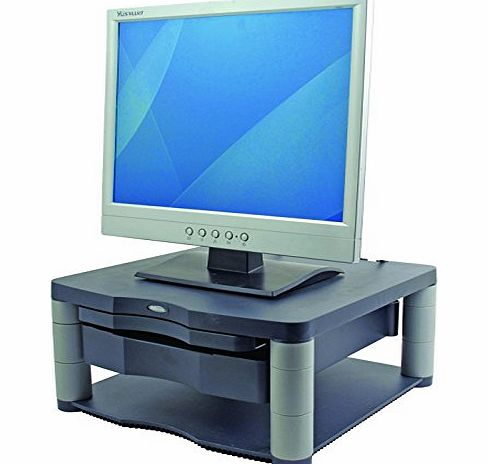Fellowes Premium Adjustable Monitor Riser Plus - Graphite product image