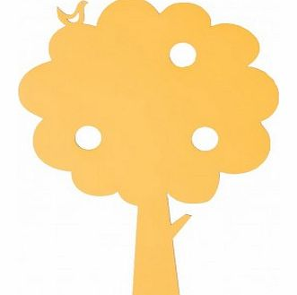 Yellow Tree Lamp `One size
