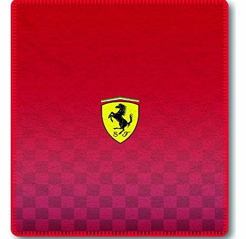 Ferrari 123 X 150 Cm 100 Percent Polyester Fleece Blanket