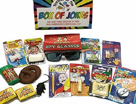 Festival of Fun Box of Jokes ~ Young Rebel Set ~ Stocking Fillers ~ Gift Box