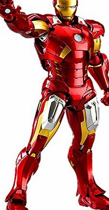 Figma Captain America The Avengers Iron Man / Tony Action Figure Series Joints Adjustable