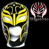 Series 2 WWE Rey Mysterio Kid Size Replica Black Mask. Officially Licensed by WWE. Made directly fro - CLICK FOR MORE INFORMATION