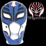 Series 2 WWE Rey Mysterio Kid Size Replica Blue Mask. Officially Licensed by WWE. Made directly from - CLICK FOR MORE INFORMATION