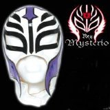 Series 2 WWE Rey Mysterio Kid Size Replica White Mask. Officially Licensed by WWE. Made directly fro - CLICK FOR MORE INFORMATION