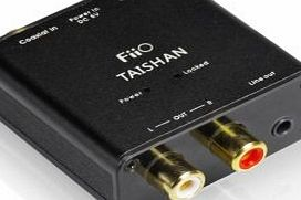 FiiO Digital to Analog Audio Converter - 192kHz/24bit Optical and Coaxial DAC SPDIF - TOSlink / Coaxial to Stereo Left/Right RCA - FiiO D03K Taishan