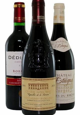 Fine Wine Sellers Classic French 3 Bottle Selection - 3 x 750ml product image