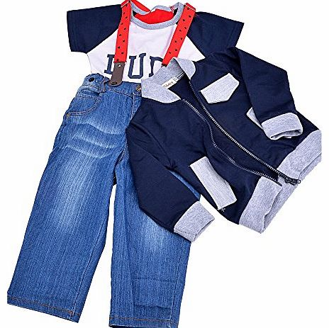 Finejo  infant Toddler Boy Baby Bowknot Gentleman Romper Jumpsuit Outfit Plaid Clothes 80