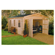 Finnlife Koppelo Log Cabin Garage Review Compare Prices