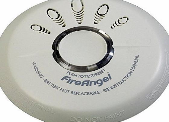 Fireangel Long Life Ionisation Smoke Alarm with Silence Button