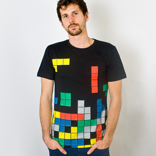 Firebox Tetris T-Shirt by BePriv (Small) product image