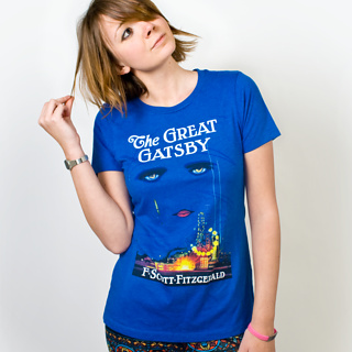 Firebox The Great Gatsby Womens T-Shirt (Large) product image