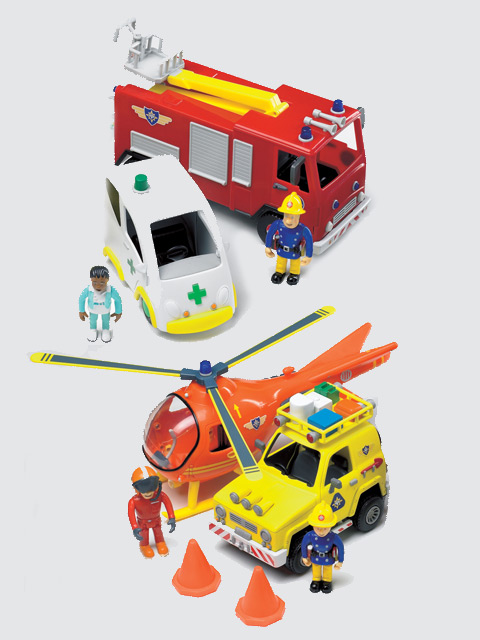 complete Fireman Sam playset is a must have for any Fireman Sam fan!,