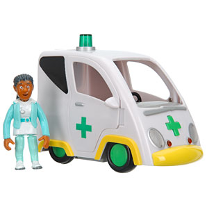 Friction Ambulance with Nurse