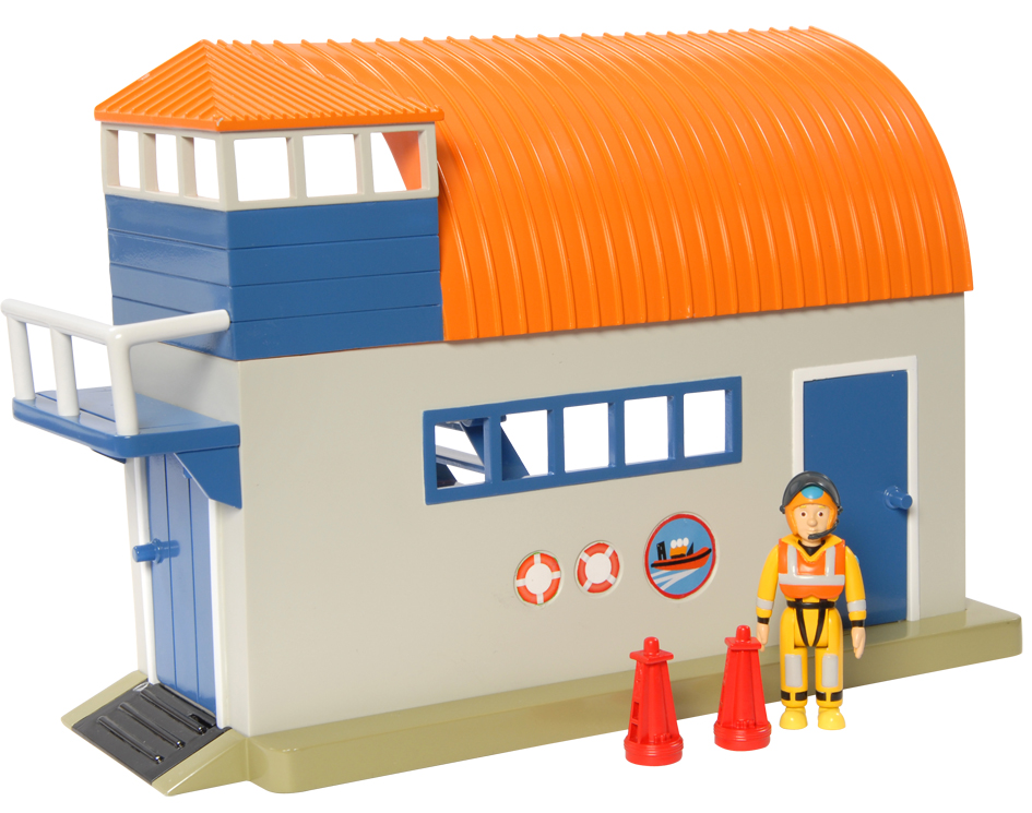 Playset W/figure - Boathouse