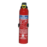 600gm This Powder Fire Extinguisher is suitable for for small electrical fires. With a 600gm load it is deemed suitable only for B and C fire classifications. The powder retardant is safe for specific use with electrical fires where water or foam wou - CLICK FOR MORE INFORMATION