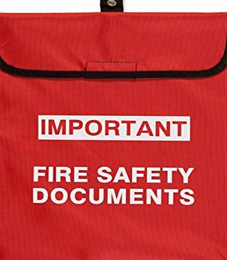 FireProtectionShop Soft Case Fire Document Holder