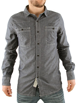 Firetrap Blue Union Chambray Shirt product image