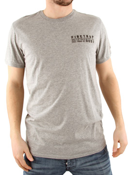 Firetrap Grey Path Crew 2 T-Shirt product image
