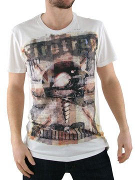 Firetrap White Union Jacket Helmet T-Shirt product image