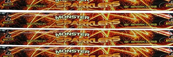 Firework Factory Mammoth 18 inch Giant Sparklers - 20 pieces - FAST DELIVERY