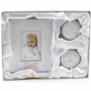 Tooth & Curl Frame Set - Its a Girl
