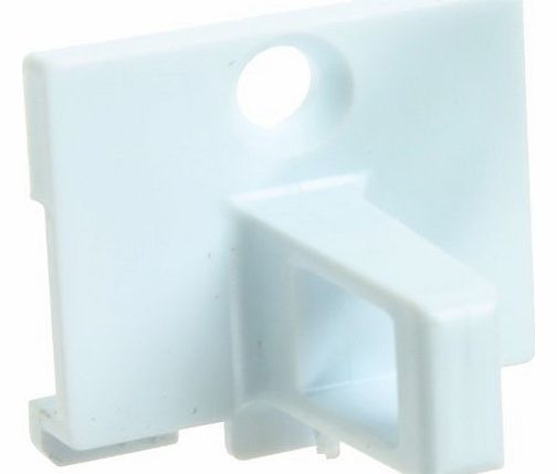 Door Lock Plastic Catch Hook for Hotpoint Tumble Dryers (White)