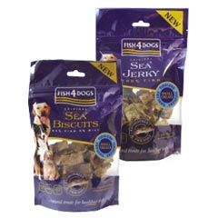 fish4dogs Tiddlers Treats 100g product image