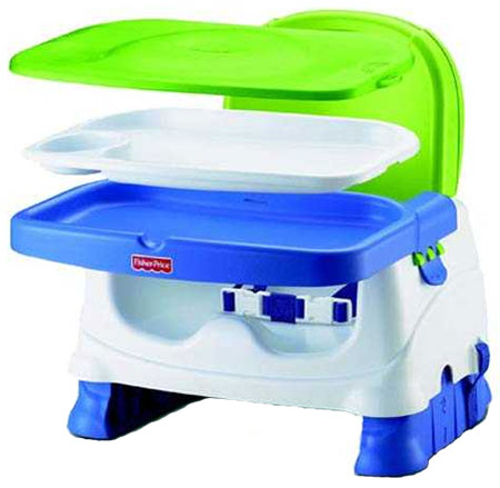 A take anywhere booster seat with a host of features including three height positions and a tray - CLICK FOR MORE INFORMATION