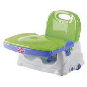 The Healthy Care? Booster Seat has a feeding tray you can sanitise right in the dishwasher. With the snap-on lid in place, the tray will stay clean until you?re ready to use it! So you can take it wherever you go (it folds compactly) and always be su - CLICK FOR MORE INFORMATION