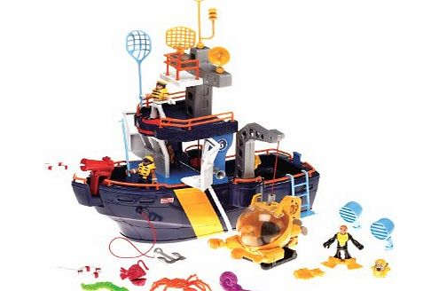 Fisher Price Imaginext Ocean Boat product image