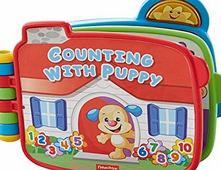 Fisher-Price Laugh and Learn Counting with Puppy Book