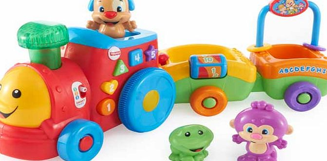 Fisher-Price Laugh and Learn Puppys Smart Train product image