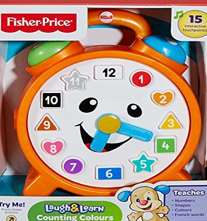 Fisher-Price Laugh and Learn Smart Stages Clock