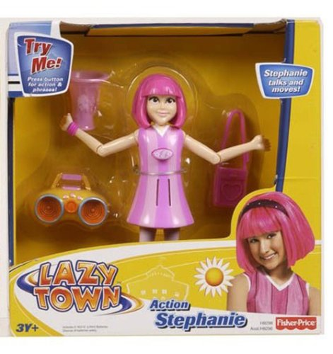 Fisher Price Lazy Town Action Figure - Action Stephanie product image
