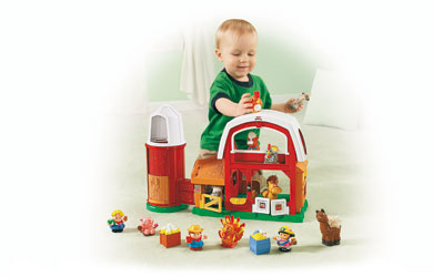 Fisher-Price Little People Animal Sounds Farm product image