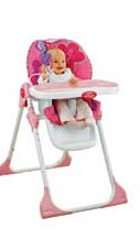 Fisher Price Pink Petals Highchair