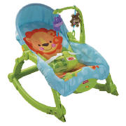 fisher price rainforest open top take along swing manual