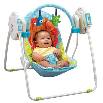 baby bouncers fisher price precious planet open top take ...