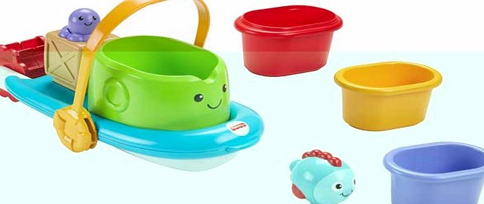Fisher-Price Stackin Tubtime Boat product image