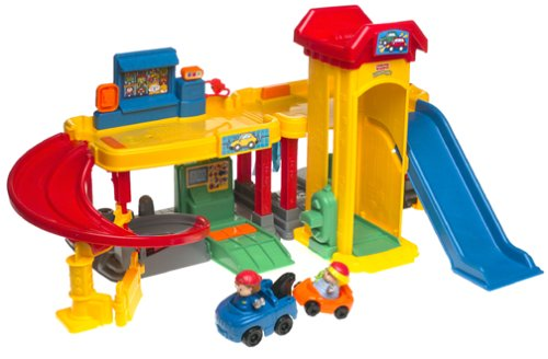 Car+Garage+With+Ramp Price World of Little People Ramps Around Garage ...