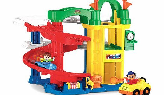 Fisher-Price Zoom Around Garage Childs Toy - review ...