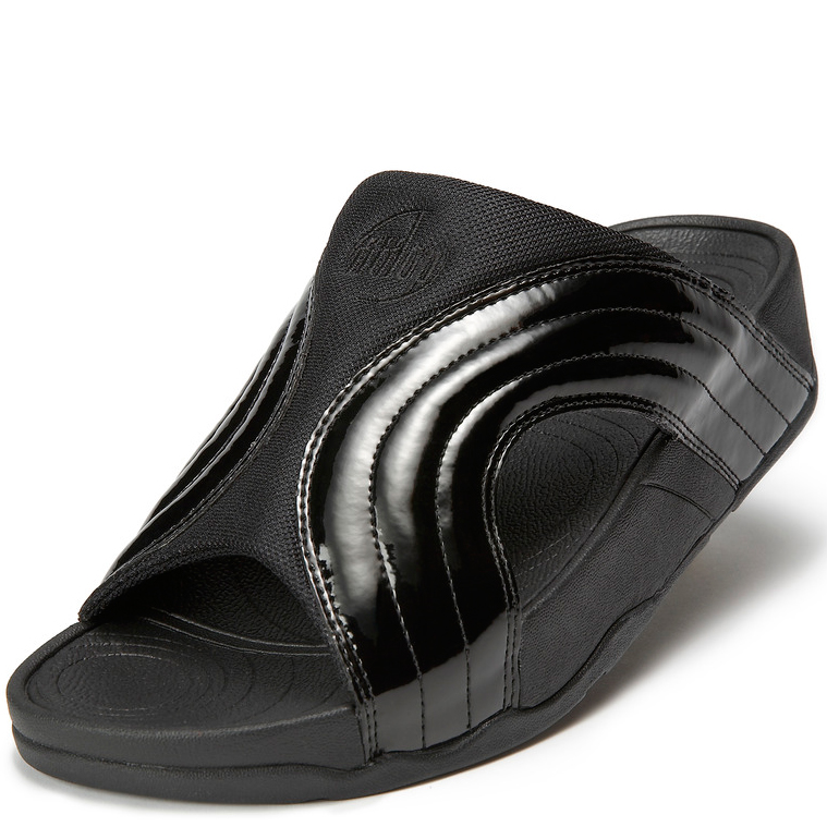 fitflop electra pewter leather