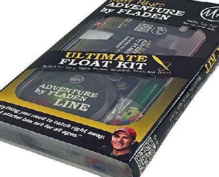 FLADEN Matt Hayes Adventure ULTIMATE FLOAT KIT Selection in a Tackle Box - Wagglers, Inserts, River, Line, Shot, Disgorger, Hooks to Nylon, Bands and Adaptor - Covers most Freshwater fishing [19MH-06]
