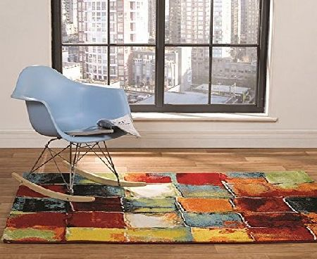 Flair Rugs Impressionist Rodin Woven Rug, Multi, 160 x 230 Cm product image