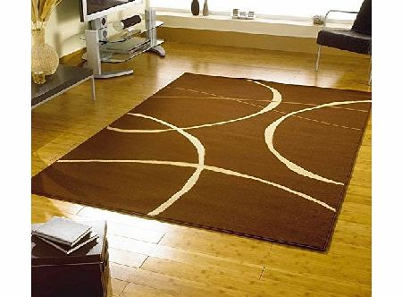 Flair Rugs Retro Classics 9255 Rug, Brown, 120 x 160 Cm product image