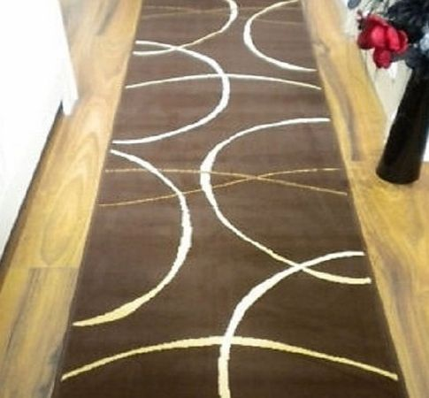 Flair Rugs Retro Classics 9255 Runner, Brown, 60 x 230 Cm product image