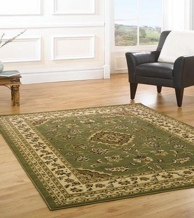 Flair Rugs Sincerity Sherborne Green Oriental Rug 240X330 product image