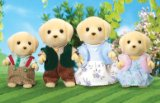 Flair Sylvanian Families Golden Labrador Family product image